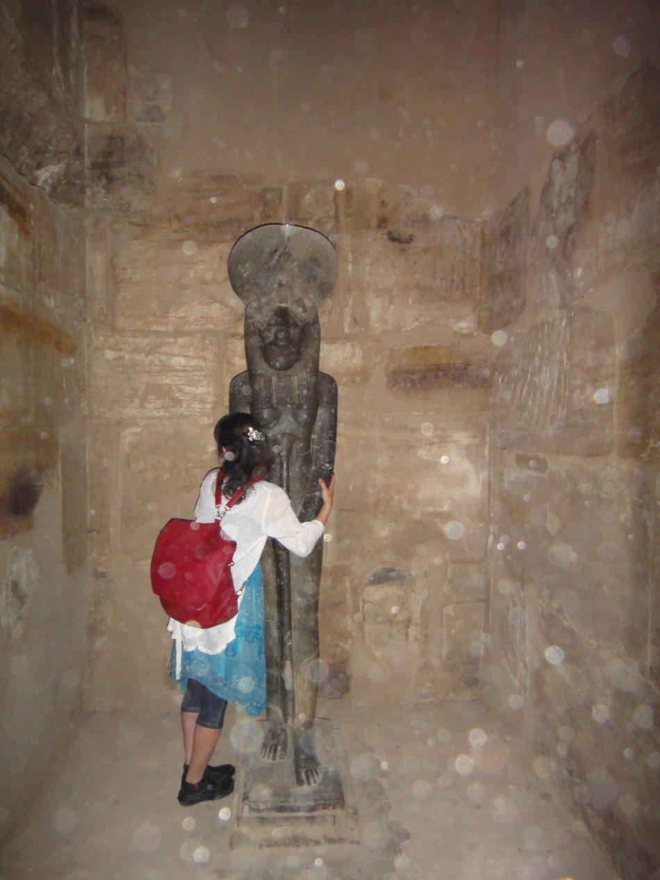 カルナック神殿 セクメト像